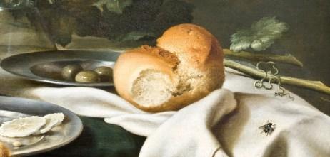 Willem Claeszoon Heda - Nature morte à la vigne (détail mouche) - 52x68cm - Musée Hallwyl - Stockholm