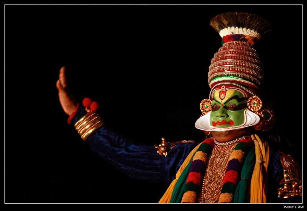 Artiste de Kathakali