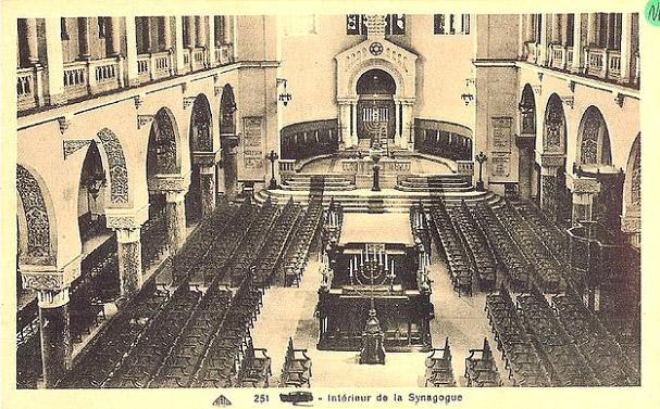 Intérieur de la synagogue d'Oran