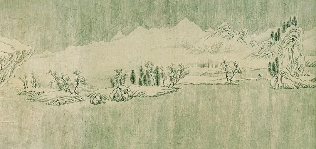 Wang Wei - Neige sur la Yangtzé - 3