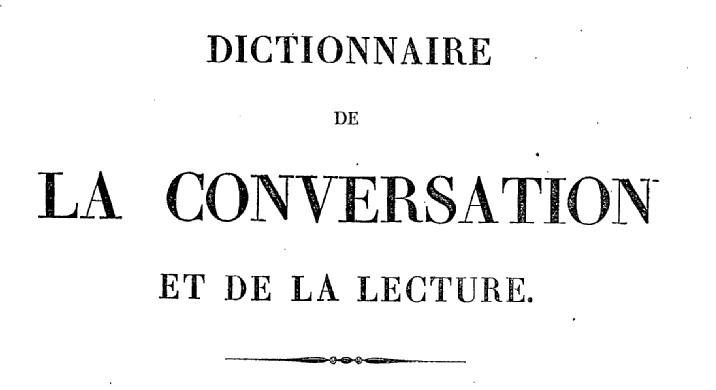Inventaire raisonné des notions les plus indispensables à tous, pour une société de savants et de gens de lettres