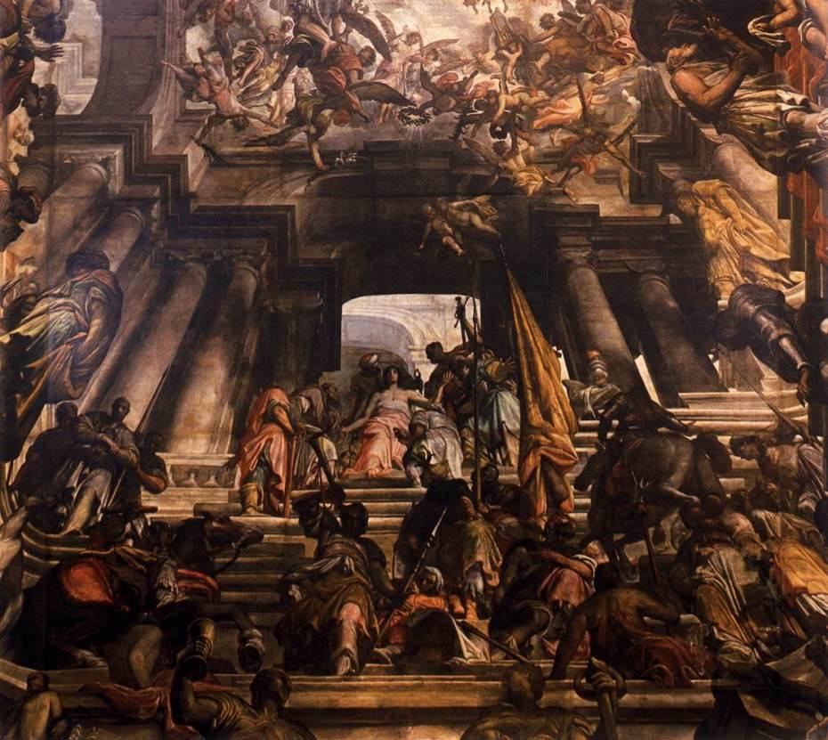 Gian Antonio Fumiani - Martyre de Saint Pantaléon - Chiesa di San Pantalon martire - 1680 à 1704 - Venise