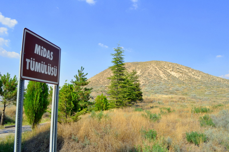 Tumulus de Gordion (Midas Tümülüsü). Photo © Sarah Murray