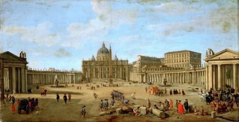 Gaspar Vanvitelli - La Piazza San Pietro, Roma