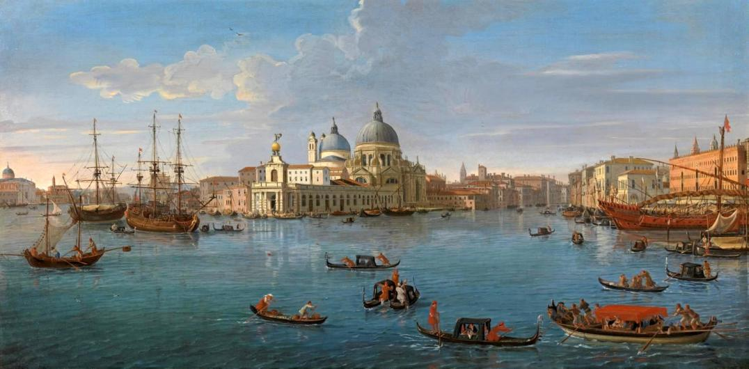 Gaspar Vanvitelli - Vue du Bassin San Marco depuis le Grand Canal