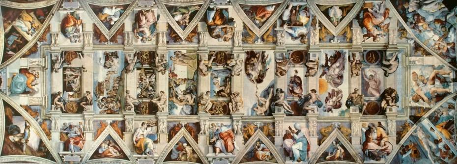 Michelangelo Buonarotti - Chapelle Sixtine - Plafond - 1509