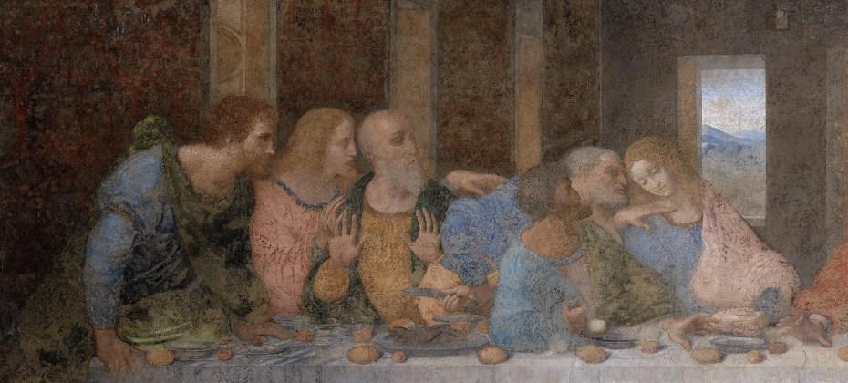 La cène (apôtres gauche) - Leonardo da Vinci - 1494-1498 - Santa Maria delle Grazie - Milano