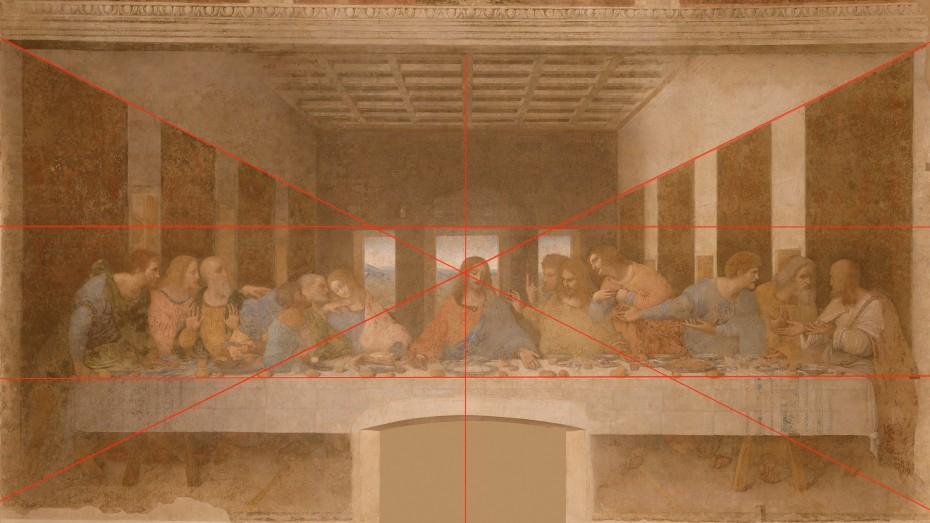 La Cène (composition) - Leonardo da Vinci - 1494-1498 - Santa Maria delle Grazie - Milano
