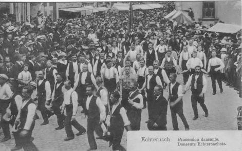 Echternach - Procession dansante - danseurs