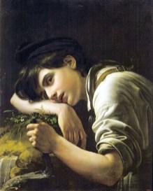 Orest Adamovich Kiprensky - Le jeune jardinier - 1817