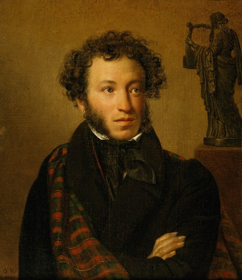 Orest Adamovich Kiprensky - Portrait du poète Alexandre Pouchkine - 1827