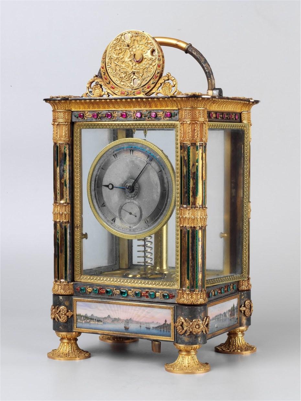 Pendule sympathique de Mahmut II - Abraham-Louis Bréguet - Musée de Topkapi - Istanbul