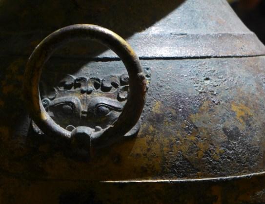 Splendeurs des Han - Musée Guimet - 25 - Vase funéraire bronze et or