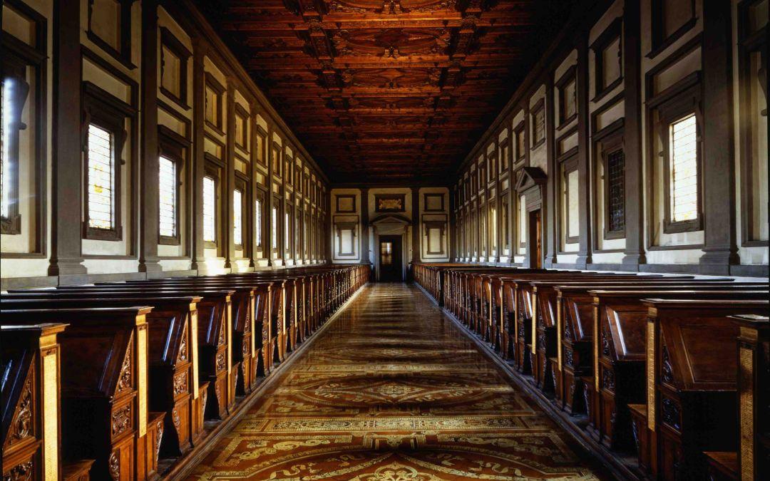 La plus belle et la plus grande collection de livre de Florence, le renouveau de la bibliothèque publique