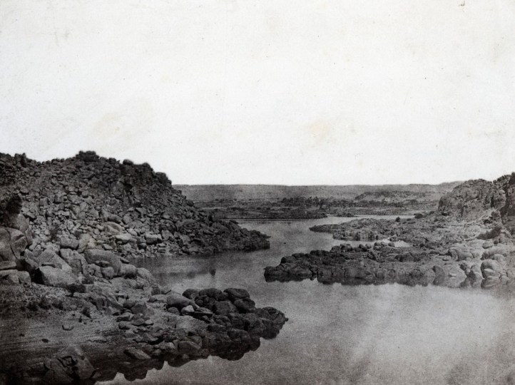 Maxime du Camp - Haute Egypte, Sortie de la Premiere Cataracte, 1850