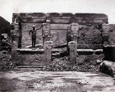 Maxime du Camp - Hypèthre, Dendereh, Egypt, 28 mai 1850