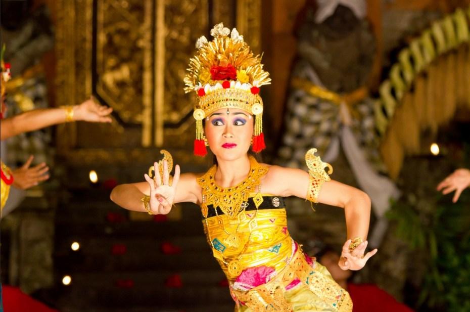 Danseuse de Legong au Palais d'Ubud