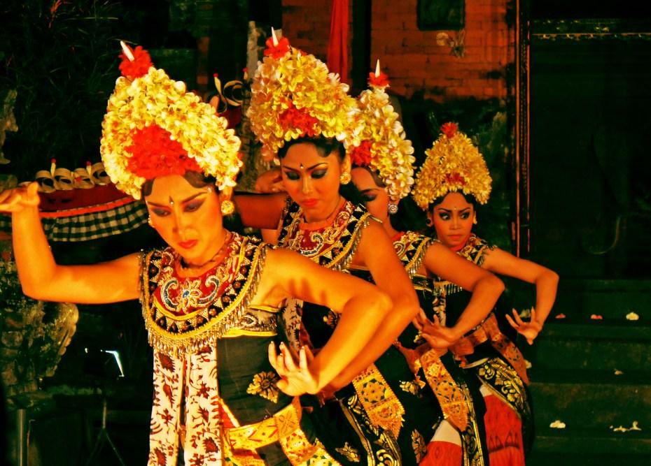 Barong au Pura Penataran Kloncing - Ubud - Bali - 7