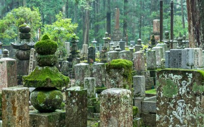 Okuno-in, dernière résidence de deux-cent-mille moines