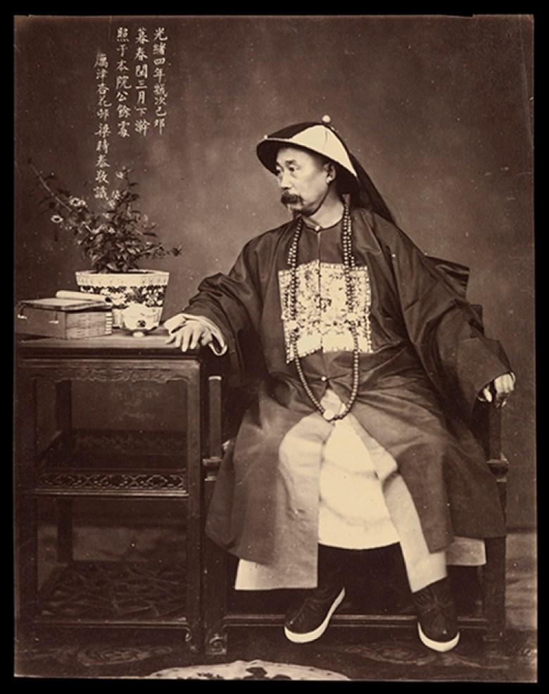 Li Hung Chang (Li Hongzhang), Vice-Roi du Zhili - Liang Shitai
