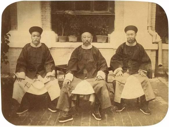 Yixuan, prince Chun et sa cour - Liang Shitai