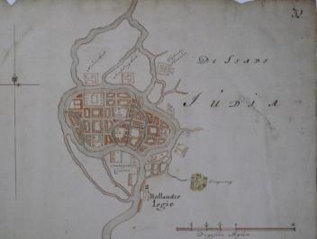 Ayutthaya - Isaac de Graaff 1690