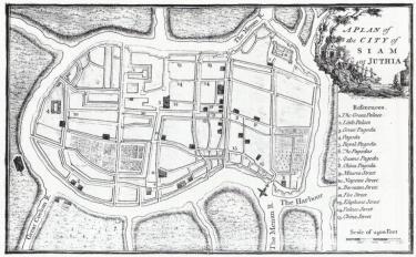 Ayutthaya - John Andrews 1771