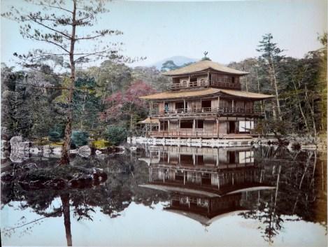 Adolfo Farsari - Kinkaku-ji