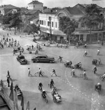 Hanoi - Scène de rue - 1959 - Rév Miklós 5