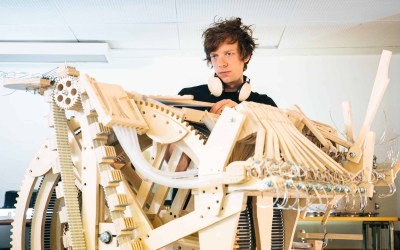 La machine à billes de Wintergatan
