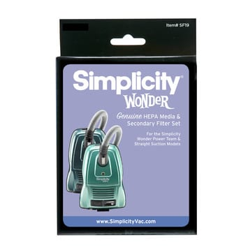 Simplicity Wonder SF19 Canister Filter Set