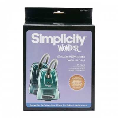 """Simplicity """"C"""" Wonder Canister Bags"""