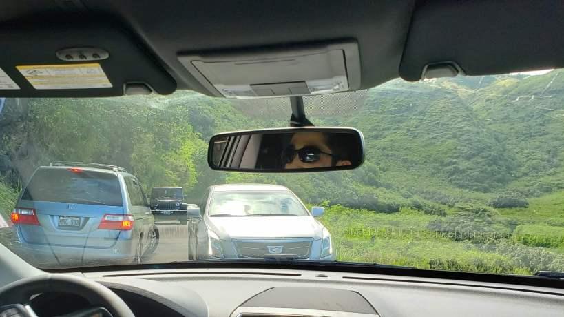 Traffic incident on Kahekili Hwy