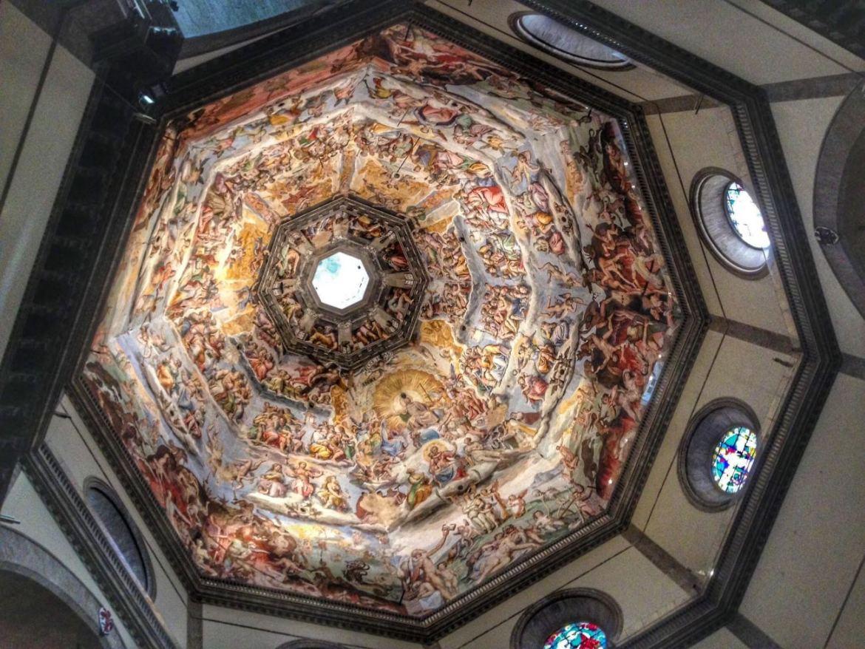 Another Gorgeous Ceiling at Basilica di Santa Maria del Fiore