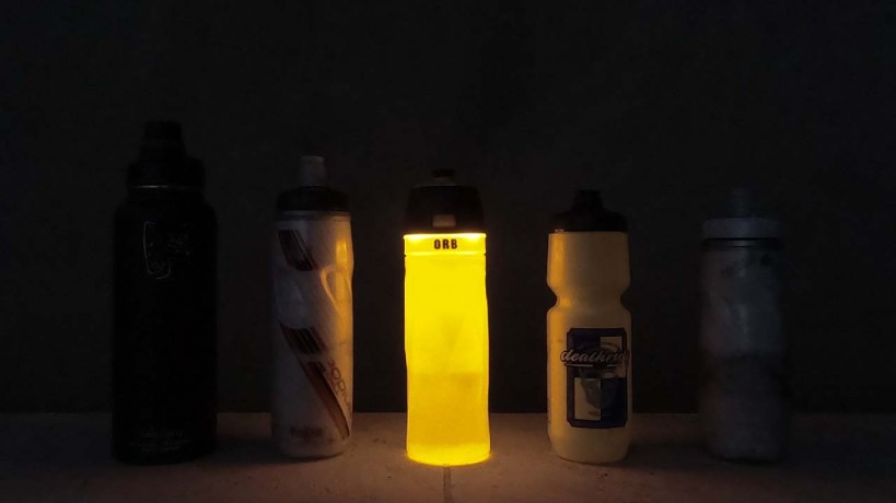 ORB Bicycle Bottle Light Night Visibility