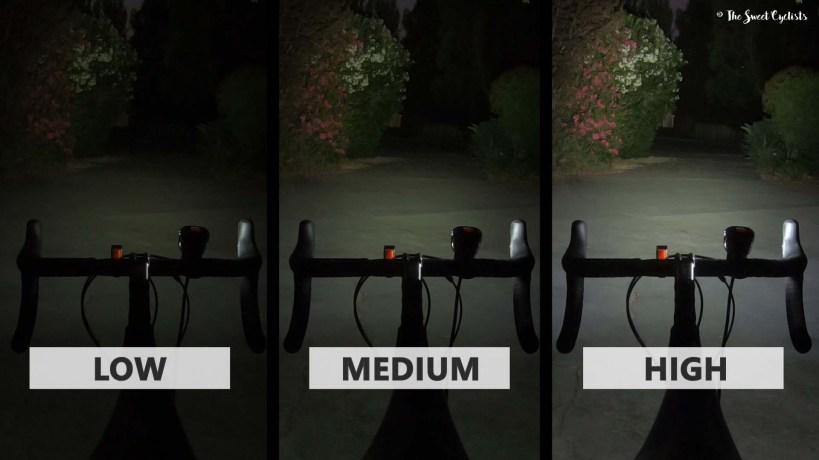 Magicshine MJ 908 Light Comparison