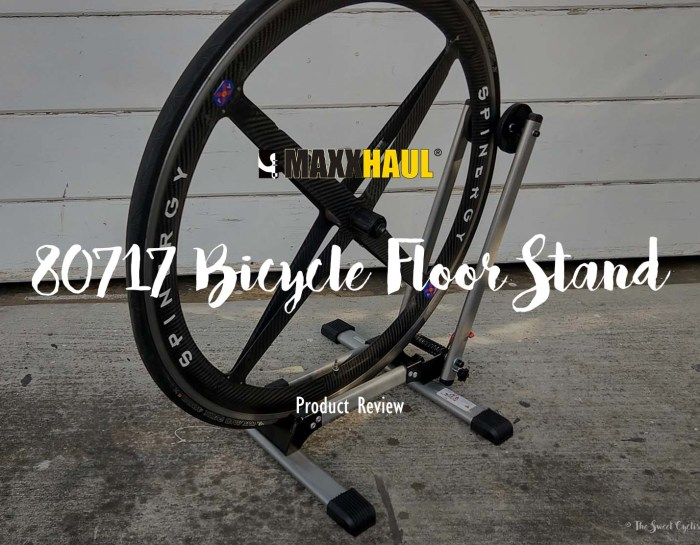 A budget-friendly Bicycle Floor Stand