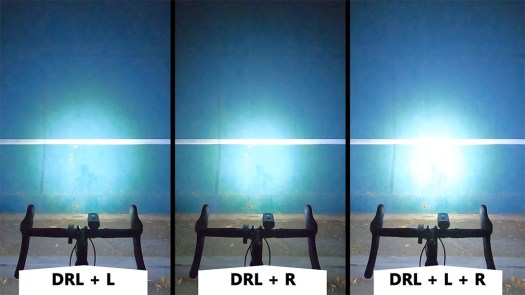 Allty 2000 Light Beam Comparison