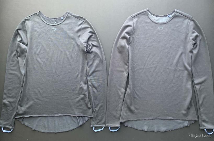 Pearl Izumi Merino Wool Baselayers - Comparison
