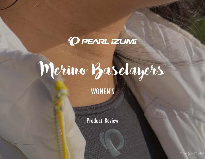 Hands on with PEARL iZUMi Merino wool Baselayers