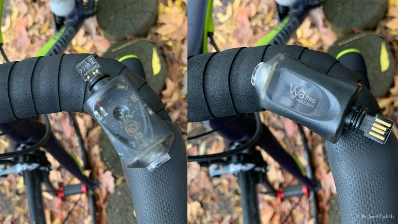 Vya Pro Smart Headlight - Top and Bottom