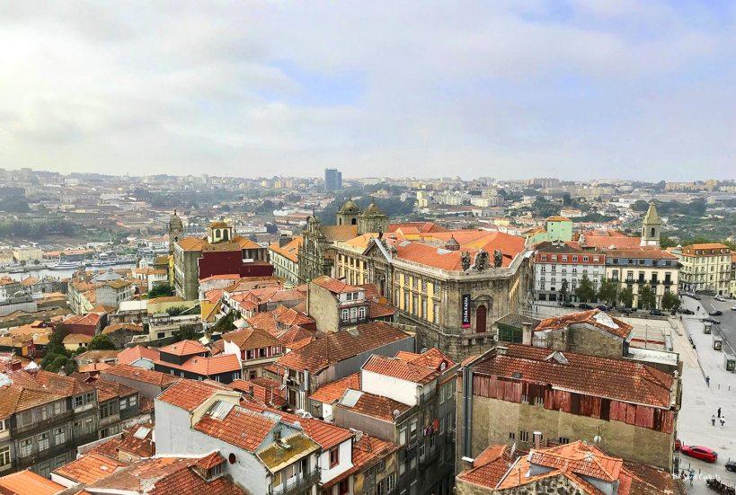 Views of Porto from Clérigos tower