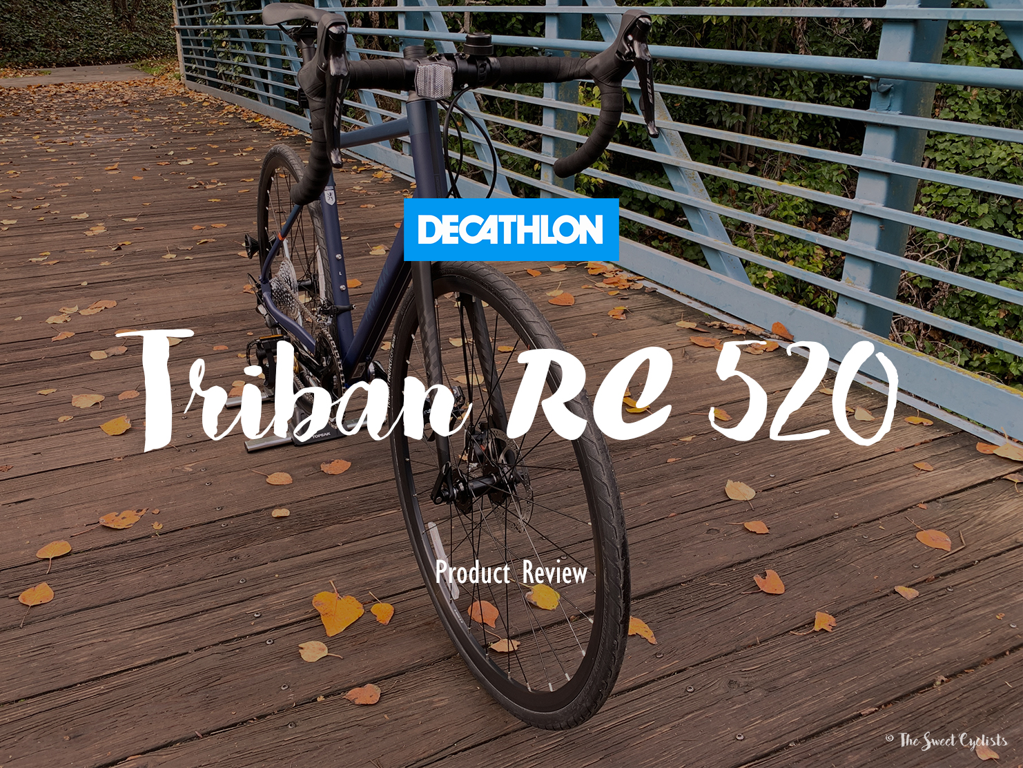 Triban RC 520, one of the best road bikes under $1000
