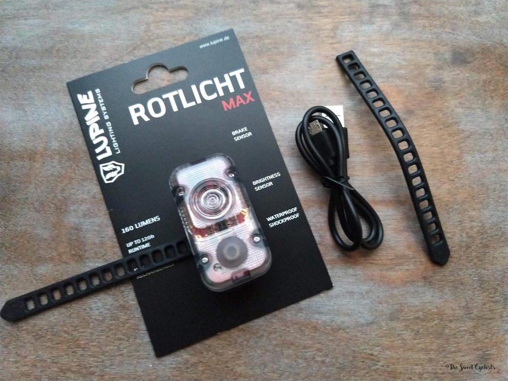 Lupine Rotlicht Max - Packaging