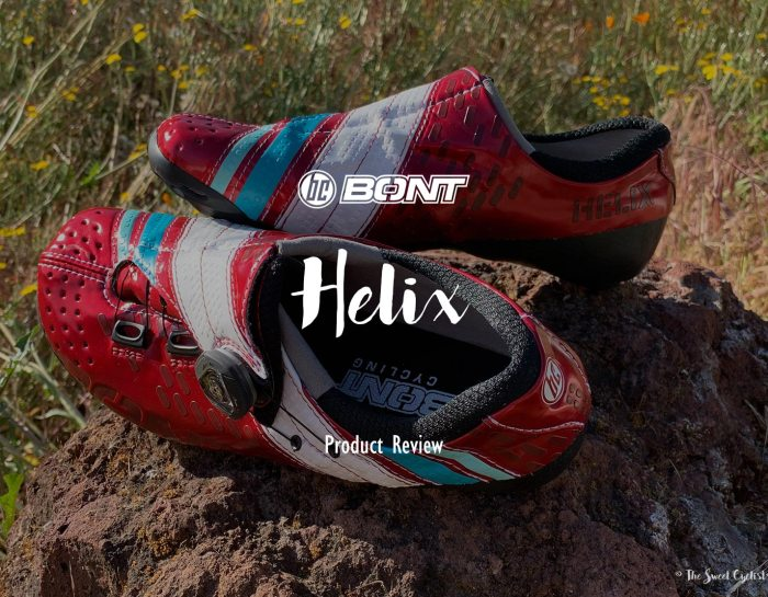Bont Helix, Cycling Shoes with a Twist