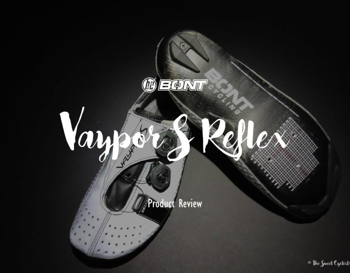 Bont Vaypor S Reflex – Reflective & Moldable Carbon shoes
