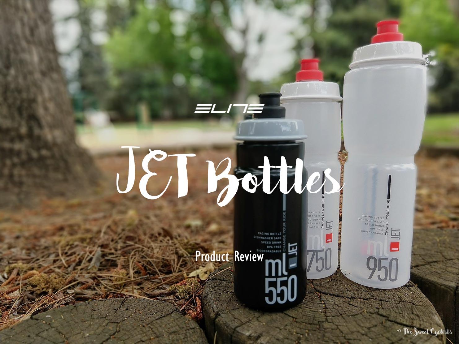 Elite Jet – Finally a Biodegradable Bike Water Bottle!