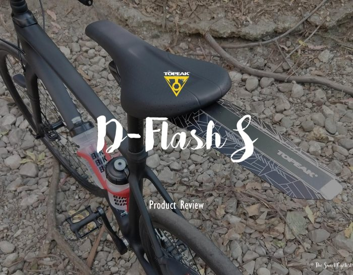 The Origami inspired Topeak D-Flash S fender