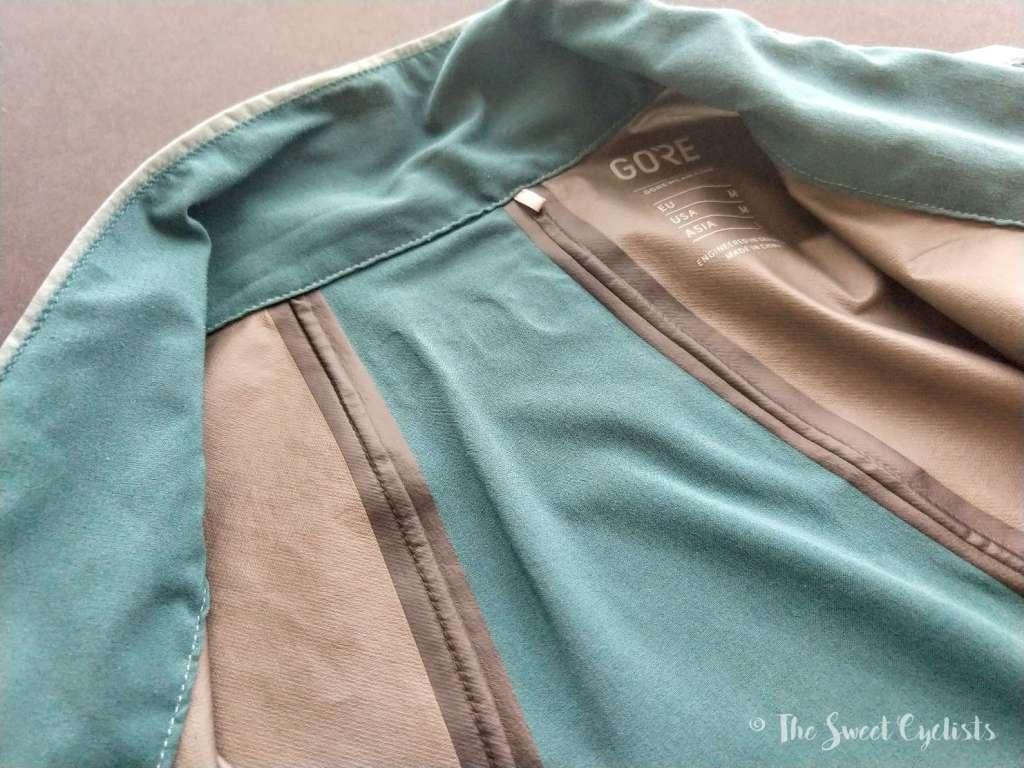 Gore R7 Partial GORE-TEX INFINIUM Vest - seams