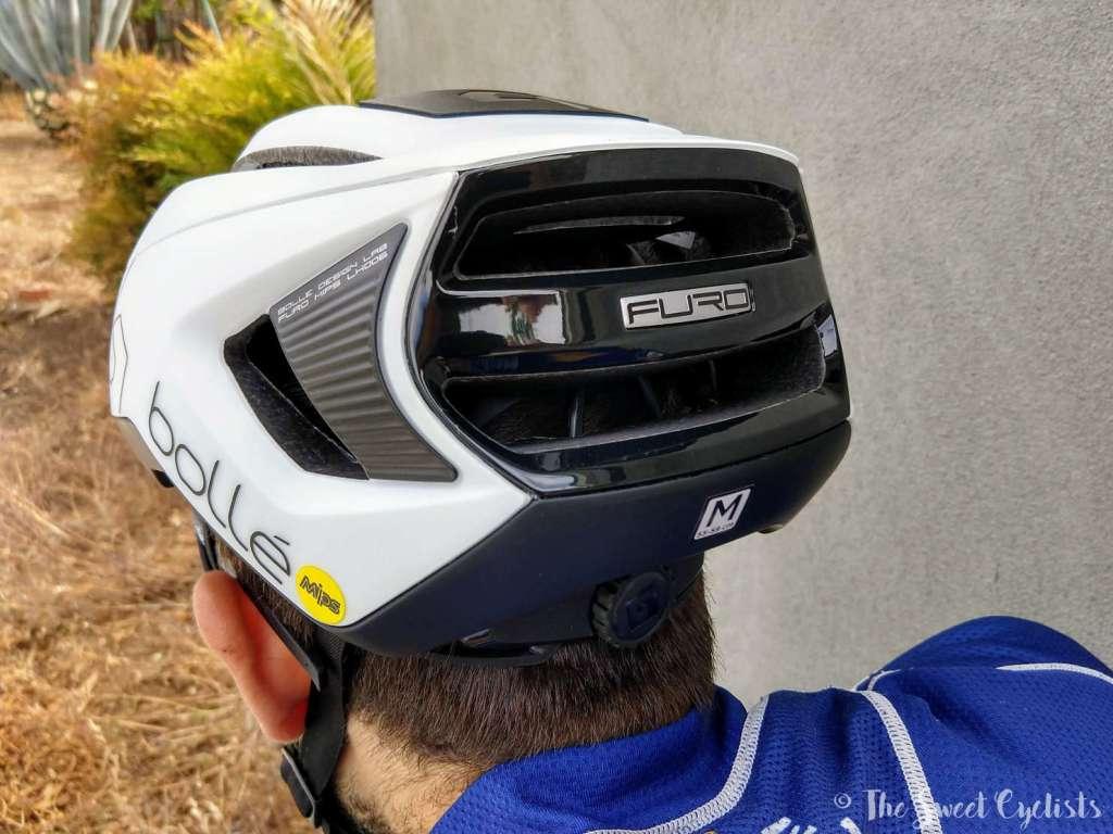 Bollé Furo MIPS helmet - aero profile